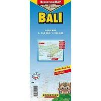 Berndtson Maps Wegenkaart Bali 1:100.000-1:200.000