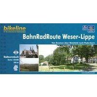Bikeline Fietsgids Bahnradroute Weser  - Lippe