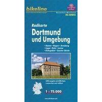 Bikeline Fietskaart Dortmund & Omgeving