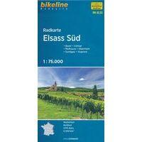 Bikeline Fietskaart Elzas Zuid