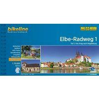 Bikeline Fietsgids Elbe Radweg Deel 1