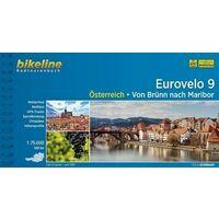 Bikeline Fietsgids Eurovelo 9 Österreich