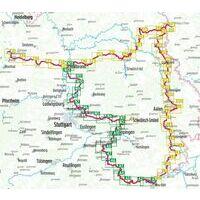 Bikeline Fietsgids Alb-Neckar-Weg