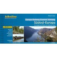 Bikeline Fietsgids Eiserner Vorhang 5: Südost-Europa