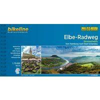 Bikeline Fietsgids Elbe Radweg Stromaufwärts