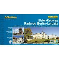 Bikeline Fietsgids Elster-Radweg - Radweg Berlin-Leipzig