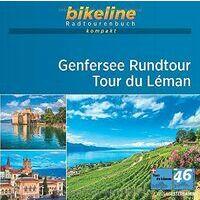 Bikeline Fietsgids Genfersee Rundtour - Lac De Léman