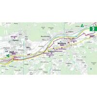 Bikeline Fietsgids Inn-Radweg 2 Innsbruck - Passau
