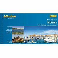 Bikeline Fietsgids Istrië - Radregion Istrien