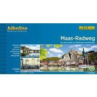 Bikeline Fietsgids Maas Radweg Von Der Quelle Zur Mundung