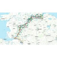 Bikeline Fietsgids Nord-Ostsee Kanal-Route