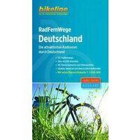 Bikeline Fietsgids RadFernWege Deutschland Duitsland