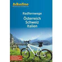 Bikeline Fietsgids Radfernwege Österreich - Schweiz - Itali