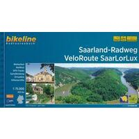 Bikeline Fietsgids Saarland-Radweg