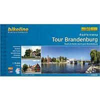 Bikeline Fietsgids Tour Brandenburg - Rund Um Berlin
