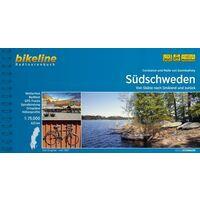 Bikeline Fietsgids Zuid-Zweden