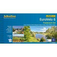 Bikeline Fietsgids EuroVelo 6 Frankreich Ost