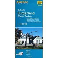 Bikeline Fietskaart Burgenland - Wiener Becken