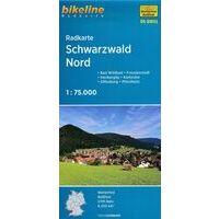 Bikeline Fietskaart BW05 Schwarzwald Noord Zwarte Woud