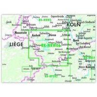 Bikeline Fietskaart Eifel Noord
