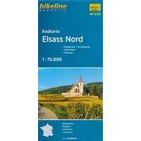 Bikeline Fietskaart Elzas Noord