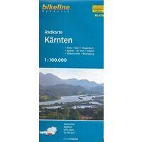 Bikeline Fietskaart Kärnten