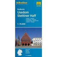 Bikeline Fietskaart MV06 Usedom - Stettiner Haff