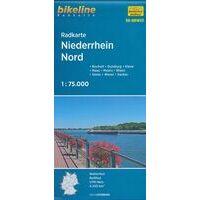 Bikeline Fietskaart Niederrhein Noord