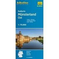 Bikeline Fietskaart NRW02 Münsterland Ost