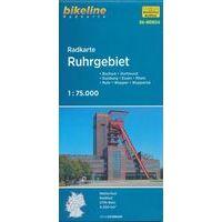 Bikeline Fietskaart NRW04 Ruhrgebiet - Roergebied