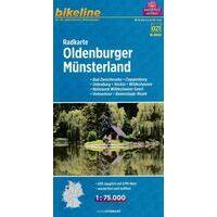 Bikeline Fietskaart Oldenburger Münsterland
