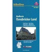 Bikeline Fietskaart Osnabrücker Land