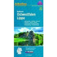 Bikeline Fietskaart Ostwestfalen - Lippe