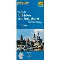 Bikeline Fietskaart SAX02 Dresden Und Umgebung