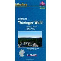 Bikeline Fietskaart Thüringer Wald