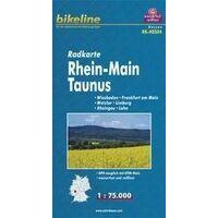 Bikeline Fietskaart Rhein Main Taunus
