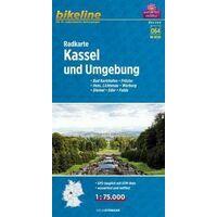 Bikeline Fietskaart Kassel & Omgeving