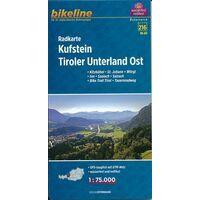 Bikeline Fietskaart Kufstein Tiroler Unterland Oost