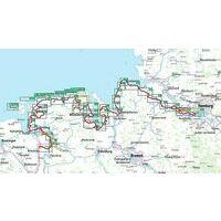 Bikeline Fietsgids Nordseeküsten Radweg Deel 2