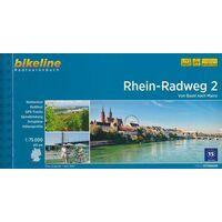 Bikeline Fietsgids Rhein Radweg Deel 2