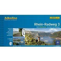 Bikeline Fietsgids Rhein Radweg Deel 3