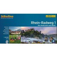 Bikeline Fietsgids Rhein Radweg Deel 1