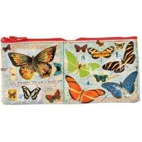 Blue Q Pencil Case Butterfly Society Klein Etui