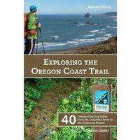 Dragonfly Press Exloring The Oregon Coast Trail - Wandelgids