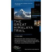 Newgrove Consultants Kaart Rolwaling & Everest Section The Great Himalaya Trail