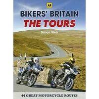 AA Publishing Motorroutes Bikers' Britain - The Tours