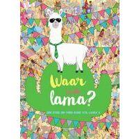 Su Kids Waar Is De Lama ? - Zoek- En Vind- Boek Vol Lama's