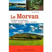 Editions Ouest-France Wandelgids Morvan - 22 Balades