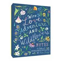 Boeken Overig With Love, Adventure And Wildflowers Notes