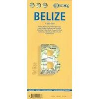 Borch Maps Belize Kaart 1:500.000